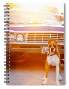 Don't Touch My Ride Spiral Notebook