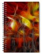 Doobies-93-keith-gg4-fractal Spiral Notebook