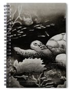 Doomed Sea Life Spiral Notebook