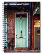 Door 939 Spiral Notebook