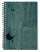 Door Amargosa Opera House Death Valley Img 0028 Spiral Notebook
