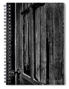 Door And Lace Spiral Notebook
