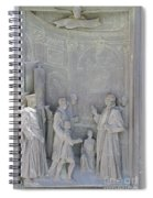 Door Detail Cathedral Siena Spiral Notebook