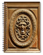 Door Detail Spiral Notebook