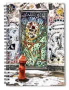 Door Mosaic Spiral Notebook