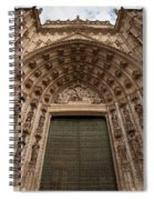 Door Of Assumption Of The Seville Cathedral Spiral Notebook