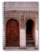 Door Of The Court Of The Myrtles 2 Spiral Notebook
