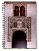 Door Of The Court Of The Myrtles 3 Spiral Notebook