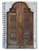 Door Of The Topkapi Palace - Istanbul Spiral Notebook