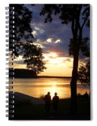 Door Peninsula Sunset Spiral Notebook