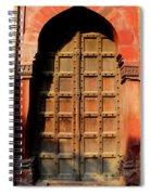 Door Spiral Notebook