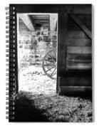Doorway Through Time Spiral Notebook
