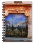 Door With A View Spiral Notebook