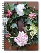 Door Wreath Spiral Notebook