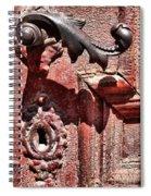 Doorknob Vintage Mechanism Spiral Notebook