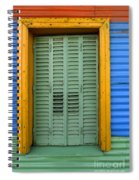 Doors And Windows Buenos Aires 14 Spiral Notebook