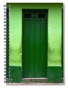 Doors And Windows Lencois Brazil 1 Spiral Notebook