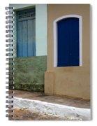 Doors And Windows Lencois Brazil 3 Spiral Notebook