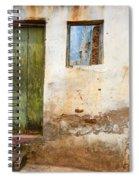 Doors And Windows Lencois Brazil 4 Spiral Notebook