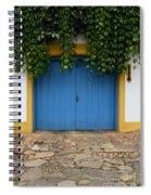 Doors And Windows Minas Gerais State Brazil 11 Spiral Notebook