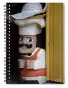 Doors And Windows Minas Gerais State Brazil 14 Spiral Notebook