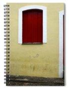 Doors And Windows Salvador Brazil 1 Spiral Notebook