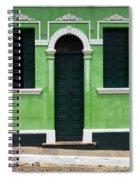 Doors And Wndows Lencois Brazil 7 Spiral Notebook