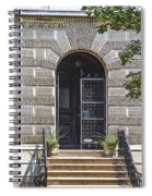 Doors Of Albany 3 Spiral Notebook