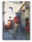 Doors In Bagnoregio Spiral Notebook