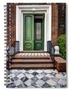 Doors Of Historic Charleston Spiral Notebook