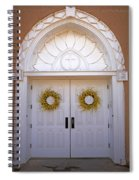 Doors Of San Francisco De Asis Spiral Notebook