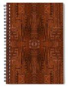 Doors Of Zanzibar Cayenne Spiral Notebook