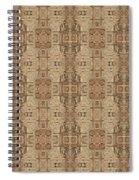 Doors Of Zanzibar Ginger Spiral Notebook