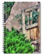 Door, Santuario De Chimayo Spiral Notebook