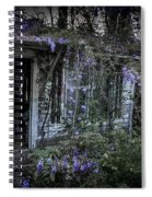 Doorway And Flowers Two Spiral Notebook