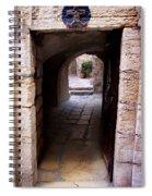 Doorway In Old City Jerusalem Spiral Notebook