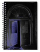 Doorway Into The Dark Spiral Notebook