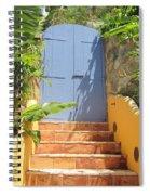 Doorway To Paradise Spiral Notebook