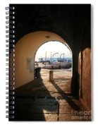 Doorway To The Sea Spiral Notebook