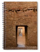 Doorways In Pueblo Bonito Spiral Notebook