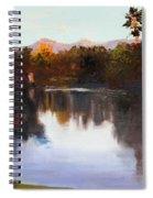 Dorado Waterhole Oil Spiral Notebook