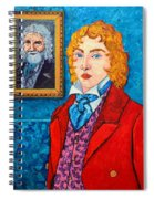 Dorian Gray Spiral Notebook