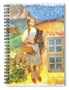 Dorothy And Toto  Spiral Notebook