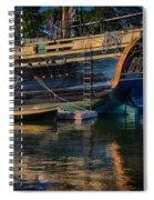 Dory Along Side  Spiral Notebook