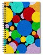 Dot Graffiti Spiral Notebook