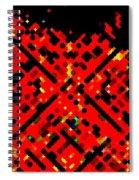 Dot Invasion Spiral Notebook