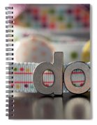Dotty Diptych Spiral Notebook