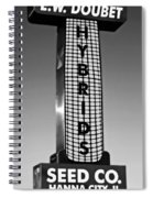 Doubet Seed Company 1.0 Spiral Notebook