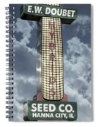 Doubet Seed Company 1.4 Spiral Notebook
