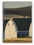 Double Barns Spiral Notebook